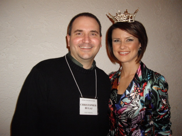 Sierra Minott, Miss Florida 2008 & your illustrious host