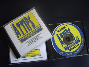 ATTIPSCAST CD and Booklet