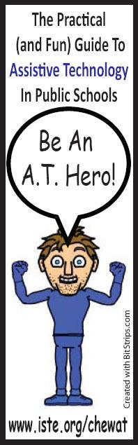 AT Hero Bookmark