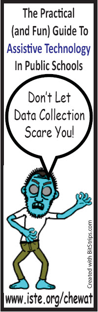The Data Collection Monster Bookmark