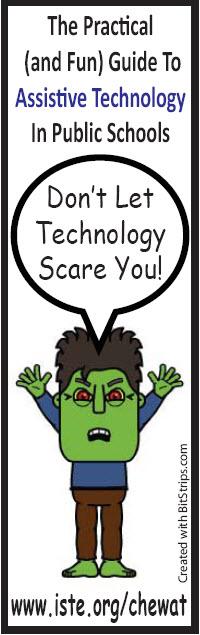 The Technology Monster Bookmark