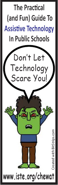 The Technology Monster Bookmark