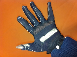 Picture of a gaming glove