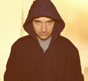 Chris as Tom Cruise in MI4