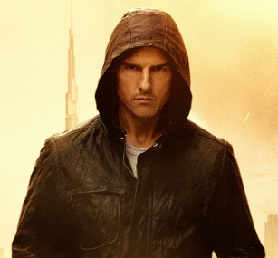 Tom Cruise in hoody from MI4