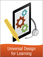 Logo for ISTE's Course on UDL