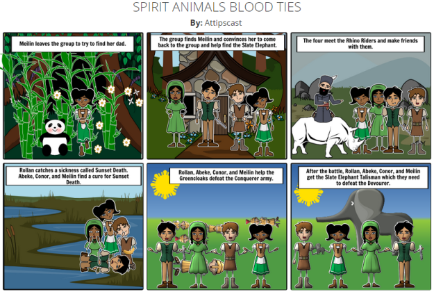 StoryBoardThat example