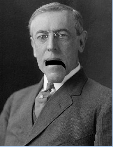 Blabberize example with Woodrow Wilson pic